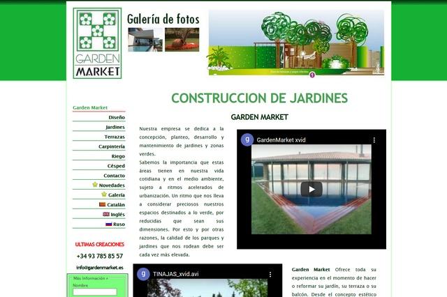Diseño, planteo, desarrollo y mantenimiento de jardines y zonas verdes.