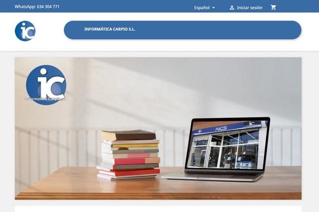 Informàtica Carpio Venta de productos de informática y complementos desde hace más de 20 años.