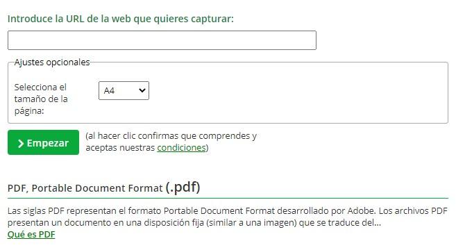 Herramientas del conversor de archivos a diferentes formatos